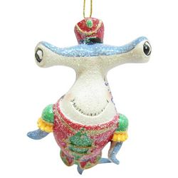 Brighten the Season Brights Hammerhead Musician Ornament