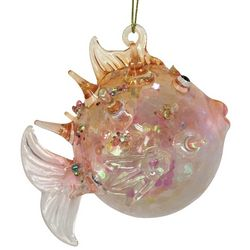 Brighten the Season Fairytale Glass Tropical Fish Ornament