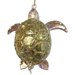 Brighten the Season Fairytale Glass Turtle Ornament