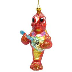 Brighten the Season Brights Lobster with Guitar Ornament
