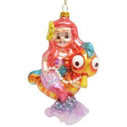 Brighten the Season Brights Mermaid On Seashore Ornament