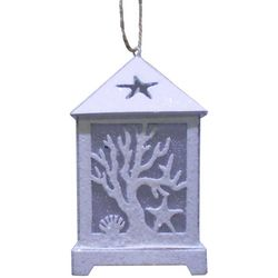 Brighten the Season Sandy Shore LED Coastal Lantern Ornament