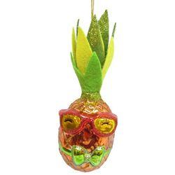 Brighten the Season Brights Rainbow Pineapple Ornament
