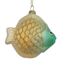 Brighten the Season Fairytale Glass Fish Ornament