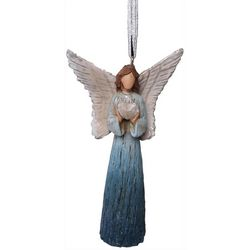Brighten the Season Sandy Shore Angel Heart Ornament