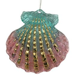 Brighten the Season Fairytale Plastic Clam Shell Ornament