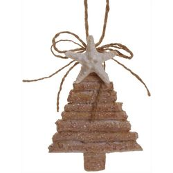 Brighten the Season Sandy Shore Tree With Starfish Ornament