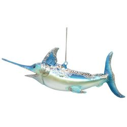 Brighten the Season Sandy Shore Swordfish Ornament