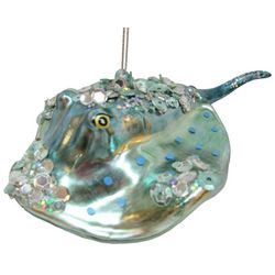 Brighten the Season Sandy Shore Stingray Ornament