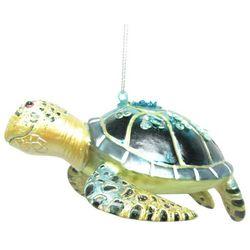 Brighten the Season Sandy Shore Sea Turtle Ornament