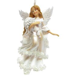 Brighten the Season Sandy Shore Angel Ornament
