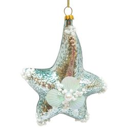 Brighten the Season Sandy Shore Metallic Starfish Ornament