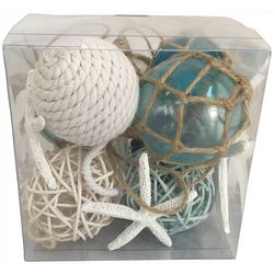 Brighten the Season Set Of 9 Ball Ornaments