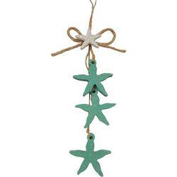 Brighten the Season Sandy Shore Hanging Starfish Ornament