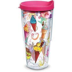 Tervis 24 oz. Ice Cream Cones Travel Tumbler