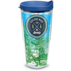 Tervis 24 oz. Jeep Explore More Travel Tumbler With Lid