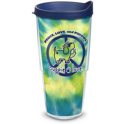 Tervis 24 oz. Puppie Love Peace Travel Tumbler With Lid