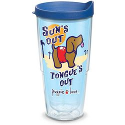 Tervis 24 oz. Puppie Love Sun's Out Travel Tumbler With Lid
