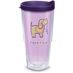 Tervis 24 oz. Puppie Love Boho Travel Tumbler With Lid