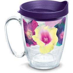 Tervis 16 oz. Hibiscus Floral Travel Mug