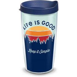 Tervis 16 oz. Life Is Good Keep It Simple Travel Tumbler