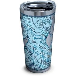 Tervis 20 oz. Stainless Steel Teal Octopus Tumbler