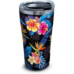 Tervis 20 oz. Stainless Steel Tropical Floral Tumbler