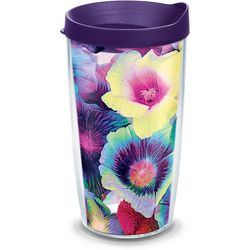 Tervis 16 oz. Hibiscus Floral Tumbler With Lid