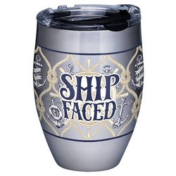 Tervis 12 oz. Stainless Steel Ship Faced Tumbler