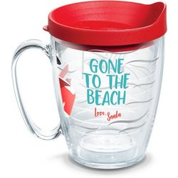 Tervis 16 oz. Gone To The Beach Santa Mug With Lid