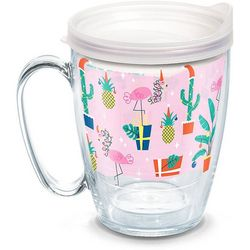 Tervis 16 oz. Tropical Holiday Mug With Lid