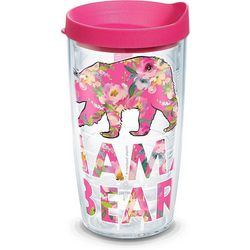 Tervis 16 oz. Simply Southern Floral Bear Tumbler With Lid