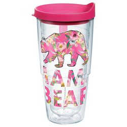 Tervis 24 oz. Simply Southern Floral Bear Tumbler With Lid