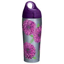 Tervis 24 oz. Stainless Steel Purple Dahlias Water Bottle