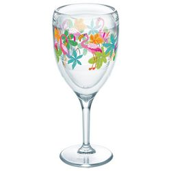 Tervis 9 oz. Flamingo Fun Stemmed Wine Glass