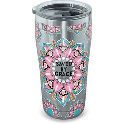 Tervis 20 oz. Stainless Steel Saved By Grace Tumbler
