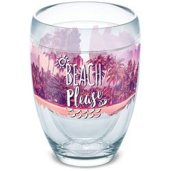 Tervis 9 oz. Beach Please Stemless Wine Glass