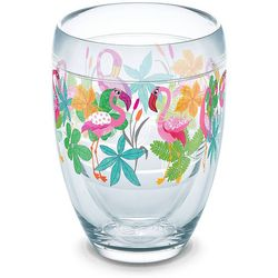 Tervis 9 oz. Flamingo Fun Stemless Wine Glass