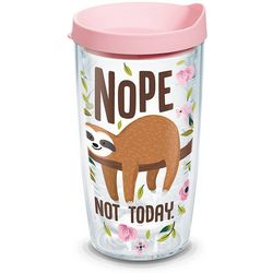 Tervis 16 oz. Sloth Nope Not Today Tumbler With Lid
