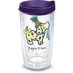 Tervis 16 oz. Pineapple Pup Tumbler With Lid