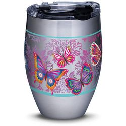 Tervis 12 oz. Stainless Steel Butterfly Tumbler