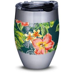 Tervis 12 oz. Stainless Steel Tropical Hibiscus Tumbler
