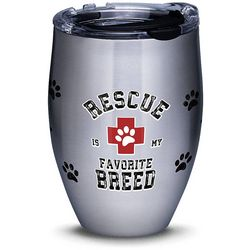 Tervis 12 oz. Stainless Steel Rescue Favorite Breed Tumbler
