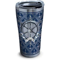 Tervis 20 oz. Stainless Steel Captain's Wheel Tumbler
