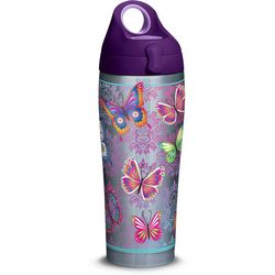 Tervis 24 oz. Stainless Steel Butterfly Water Bottle