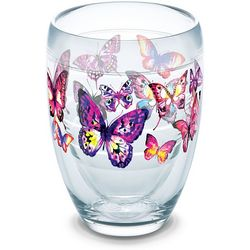 Tervis 9 oz. Butterfly Passion Stemless Wine Glass