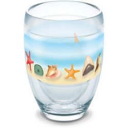 Tervis 9 oz. Shells On The Beach Stemless Wine Goblet