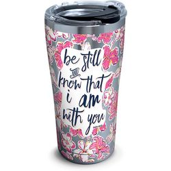 Tervis 20 oz. Stainless Steel Be Still Floral Tumbler