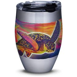 Tervis 12 oz. Stainless Steel Guy Harvey Neon Turtle Tumbler