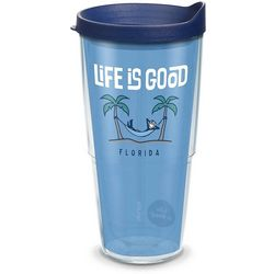 Tervis 24 oz. Life Is Good Hammock Tumbler With Lid